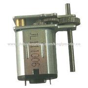 High speed low voltage DC mini gear motor