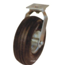 Industrial Black Rubber Swivel Castor (FC1000)