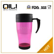 BPA frei einwandigen Kunststoff Reisen cup