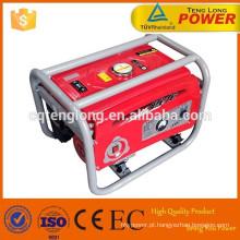 Saída AC Pontuação: poder 5kva / 5kw gasolina LPG duplo combustível gerador