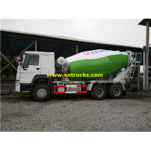 SINOTRUK 10 CBM Cement Mixing Vehicles