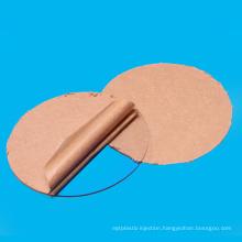 """Transparent Clear Acrylic Disc  Circle 2"""" Diameter"""