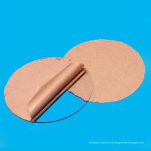 "Círculo acrílico claro transparente do disco 2 ""diâmetro"