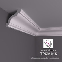 High Stability PU Decorative Cornice Moulding With Complete Range Of Articles