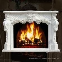 Foyer électrique de flamme de décor, foyer électrique de luxe, cheminée électrique bon marché VFM-NB105A