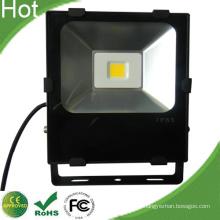Reflector de LED negro 50W IP67