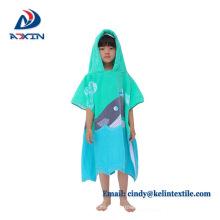 60x120cm coton imprimé serviette de plage couleur enfants