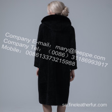 Reversible Australia Merino Shearling Long Coat Winter
