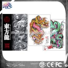 Hot sale tattoo drawing book dragon body art tattoo flash tattoo sketch book