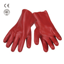 hand protection working PVC glove