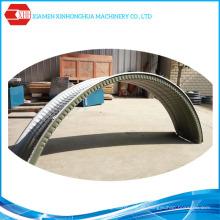 China machte populäre Marke automatische hydraulische Dach-Crimp-Blechbiegemaschine