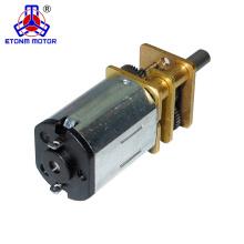 Motor de 3V DC micro ET-SGM12-C 1.5V - 9V Motor de bajo ruido con caja de cambios