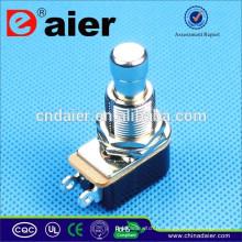 DAIER soft touch SPST OFF- (ON) Pédale de commande électrique à bouton-poussoir