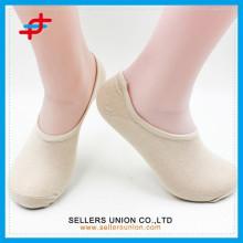 2015 Sommer-Baumwoll-Anti-Rutsch-unsichtbare Socken