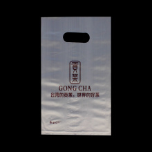 Logo Customized Die Cut Carrier Bags for Tea