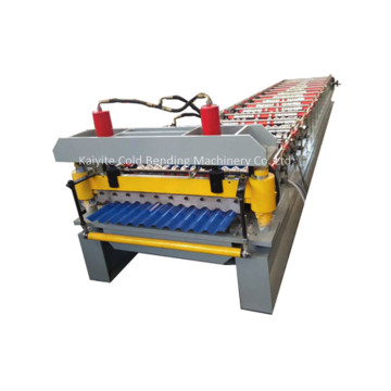Automatic Corrugated Roofing Tile Roll Forming Machinery
