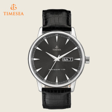 Homens Relógios casuais Men Water Resistant Leather Quartz Watch 72390