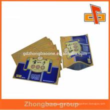 China Bolsas de Embalaje Farmacéuticas / Bolsa de 3 sellos térmicos laterales / Bolsa de aluminio para uso medicinal