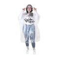 2019 Fesyen DIsposable PE Hujan Ponchos
