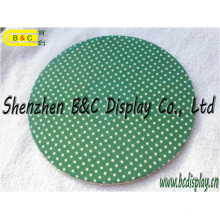 Coaster de papel Eco-Friendly, esteira de lugar, porta copos do presente. Esteira de cerveja com SGS (B & C-G108)
