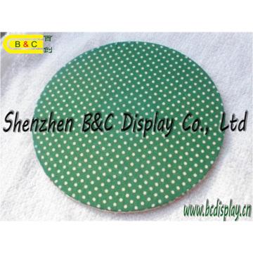 Caboteur en papier écologique, napperon, cadeau Coaster. Tapis à bière avec SGS (B & C-G108)