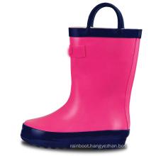 2020 Wholesale Natural Rubber Rain Boots England Rain Boots Kids With Lights Transparent Rain Boots