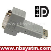 DispalyPort para adaptador DVI 90 graus