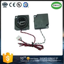 4ohm 2watt Mini caja de altavoz al aire libre para el monitor del ordenador portátil