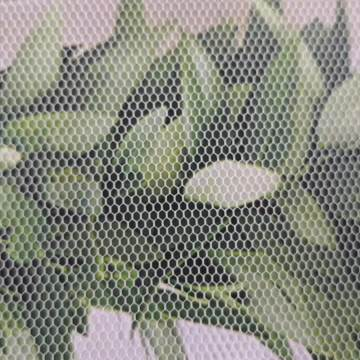 50D Polyester Knit Tulle Mesh Net Wedding Fabric
