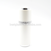 30ml luxury white acrylic cosmetic bottle with dropper