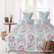 Algodão Cama Linen Queen Size para Home Design