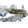 Plastic film Compactor double stage pelletizing line