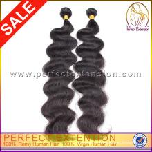 Продажа высокое качество стиля питания 100% девственница Гуанчжоу Перу волосы