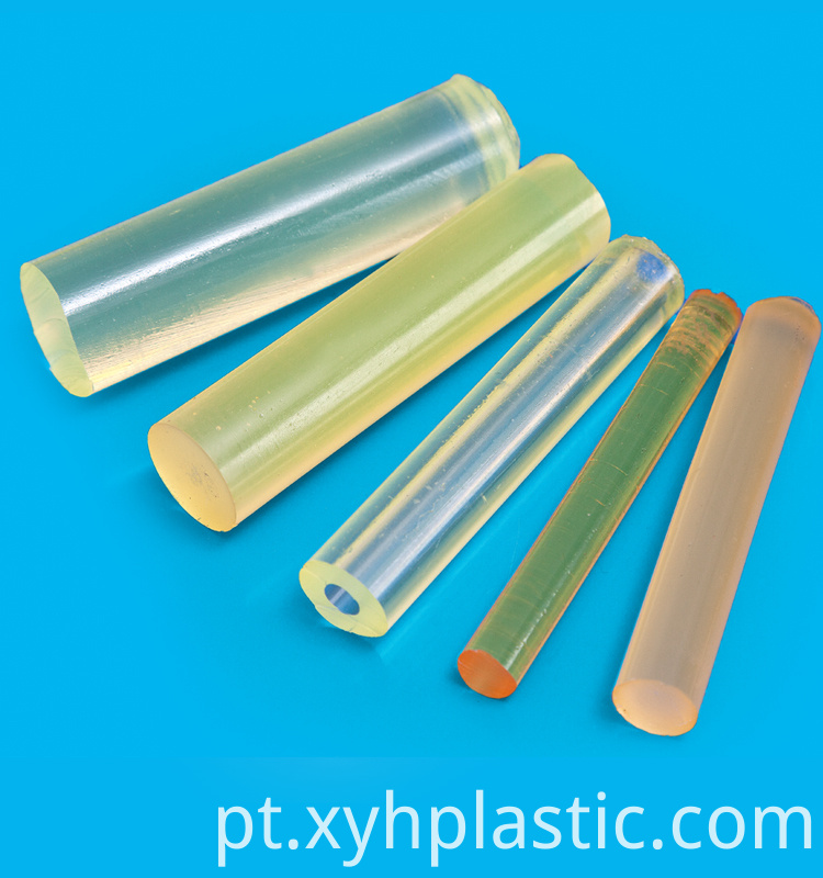 Yellow Transparent PU Rod