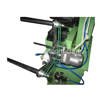 Roller feeding zipper hot stamping machine
