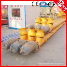 Transportador de tornillo que fabrica máquinas en China
