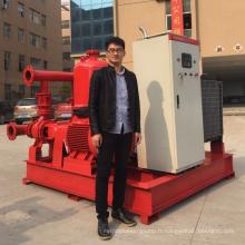 XBC-EDJ series500GPM 8bar diesel pompe à incendie ensemble