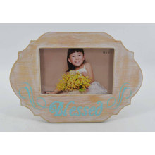 Especial Forma Cute MDF Photo Frame para Home Deco