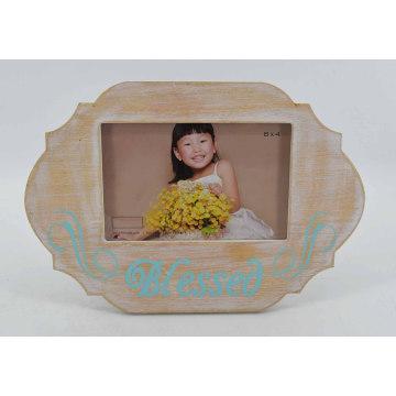 Spezielle Form Cute MDF Fotorahmen für Home Deco