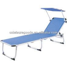 Складной Алюминиевый пляжный лежак