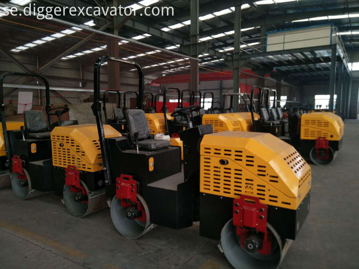 Manual Vibration Road Roller