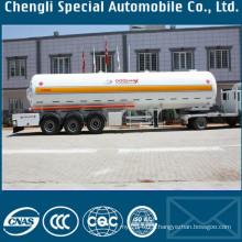 Heavy Duty 40.5cbm LPG Cooking Gas Tanker Semi Trailers 20mt