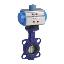 Pneumatic Wafer Butterfly Valve for Water, Steam