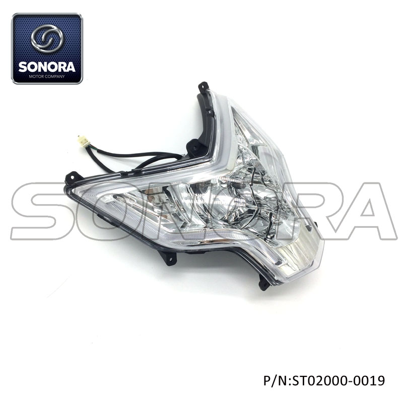 ST02000-0019 LONGJIA Spare part LJ50QT-3J headlight (1)