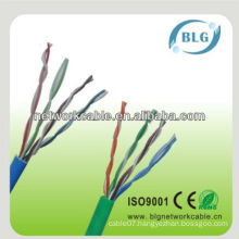 Good performance cable 8 cores 0.5mm utp cat5e lan cable