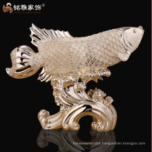 high quality hotel restaurant decor fengshui fish figure gift for luck