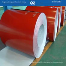 Bobines de feuilles PPGI standard ISO