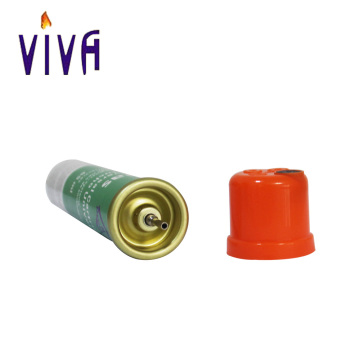Recipiente de gas butano de 65 ml