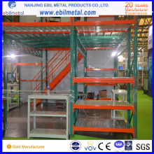 China Fabricante Ebil Metal Industrial Multi-Layer / Mezzanine Rack