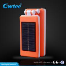 Lampe de table sans fil rechargeable solaire rétractable 32leds